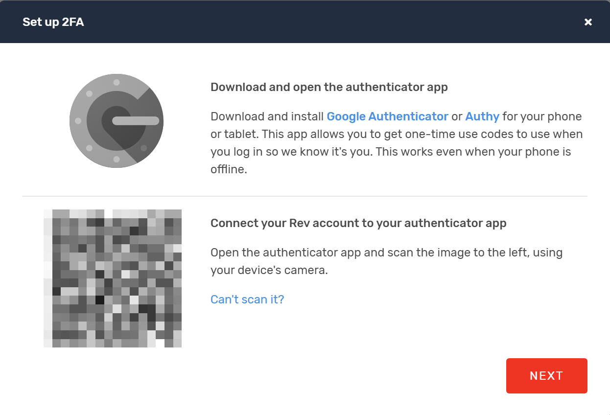 How to connect a Google Workspace account with Two Factor Authentication (2FA) enabled